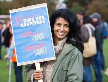 Save Our Hospitals March & Rally