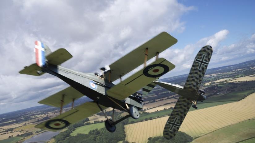 First World War fighter planes