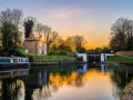 Hanwell Flight of Locks 93 by Leigh Cousins was a runner-up in Living Waterways of North and West London Photo Competition