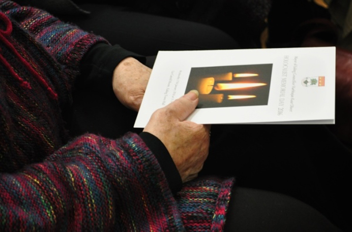 Holocaust Memorial Day 2016 programme