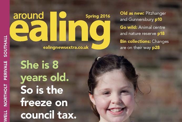Around Ealing Spring 2016