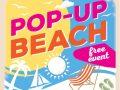 Pop-up beach