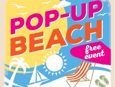 Pop-up beach