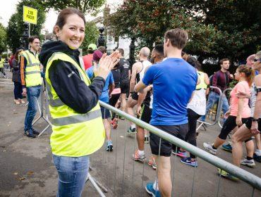 Ealing Half volunteers by Kieren Geaney