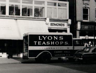 Lyons tea shop in Ealing