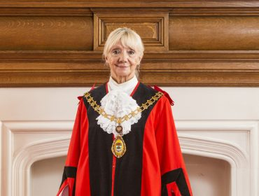 Councillor Patricia Walker, mayor of Ealing 2016-17