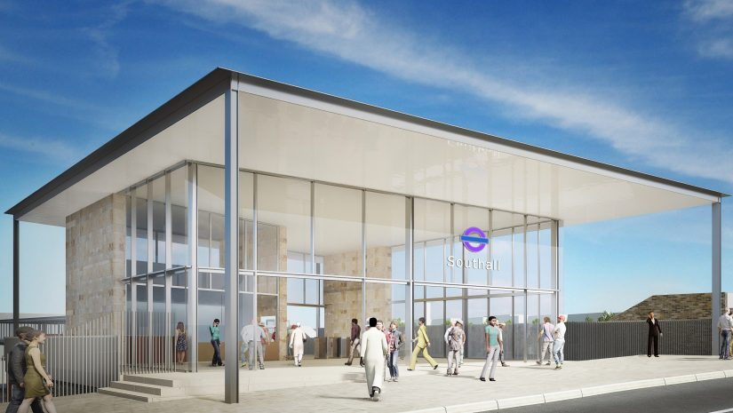 Southall Crossrail station