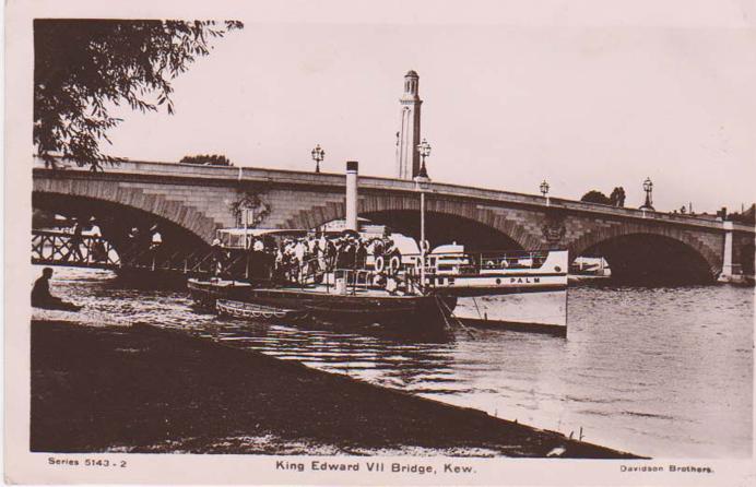 King Edward VII Bridge, Kew