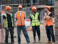 Four of the apprentices working on Havelock estate through Catalyst