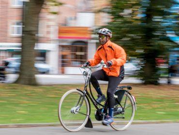 Cyclist Andy Brathwaite