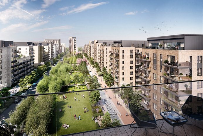 Southall Waterside - artist's impression