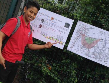 Brentside High School pupils developed a walking app