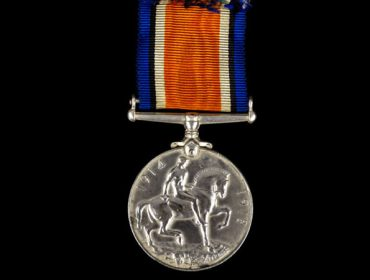Lieutenant Harold Auerbach's First World War Medal