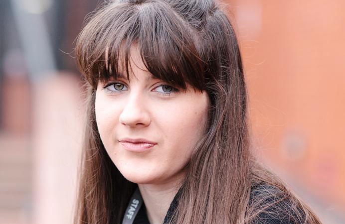 Megan Walsh got into an apprenticeship through the WEST scheme