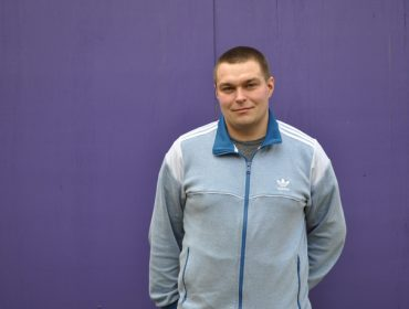 One of the current learners Lukasz Klucznik who enrolled on an adult learning course