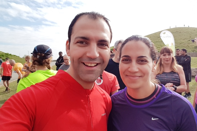Cllr Bassam Mahfouz at Northala parkrun