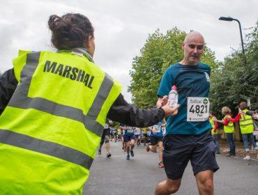 Volunteers are the half marathon in 2016