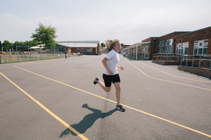 Daily mile at Selborne Primary
