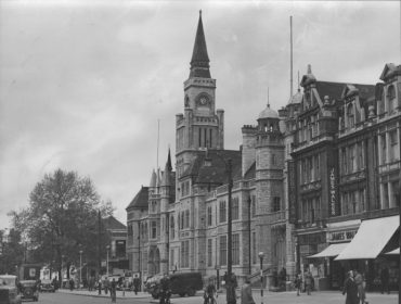 Ealing Town Hall in 1959