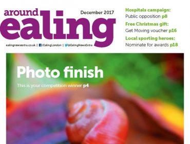 Around Ealing magazine December 2017