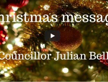 Julian Bell's Christmas message 2017