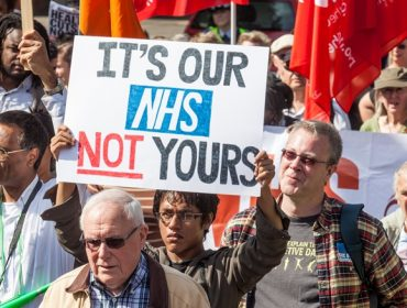It's our NHS not yours