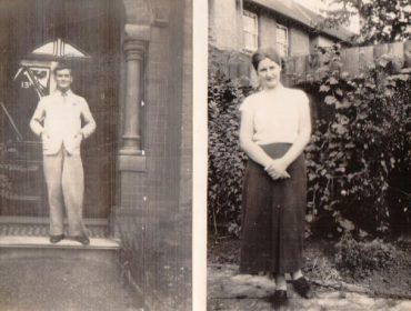 Ealing lecturer Mr Bruce and his wife Maude - in 1930s Ealing and Southall