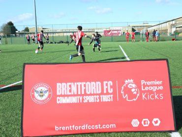Premier League Kicks tournament at Northolt High School