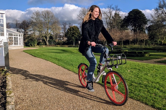 Mobike expands in Ealing