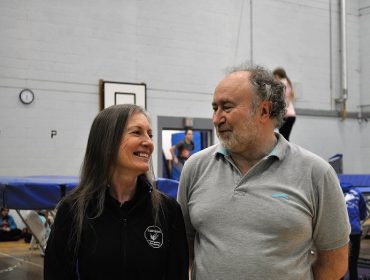 Sheila and John London Trampoline Academy