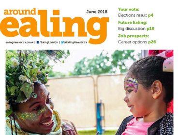 Around Ealing magazine June 2018