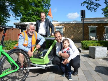 Ealing family cycle library launches