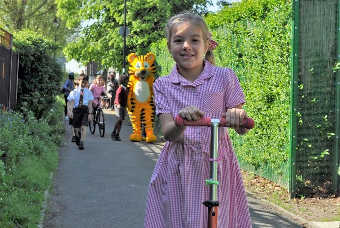 Walk to school challenge