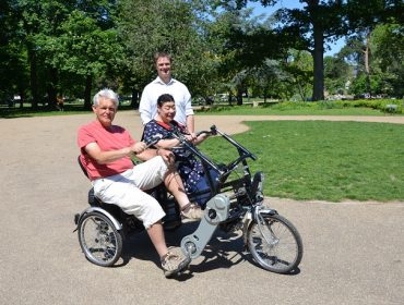 Trike Club in Walpole Park