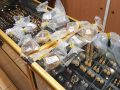 unhallmarked gold jewellery, bagged and seized by trading standards officers