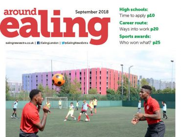 Around Ealing magazine September 2018