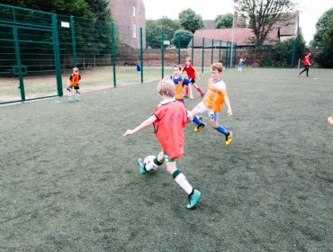Mount Carmel Primary School has help from Brentford FC with its PE