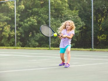Tennis sessions for children are available at Gunnersbury Park