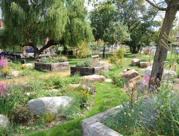 Friars Gardens is now a community garden for all