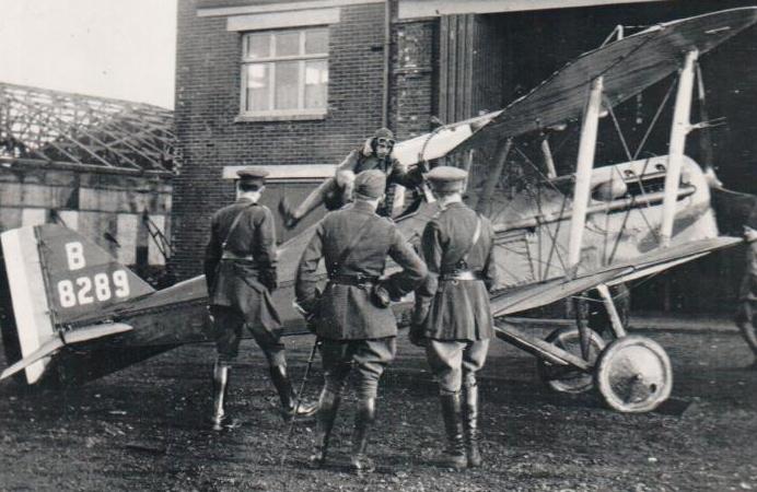 Plane. First World War