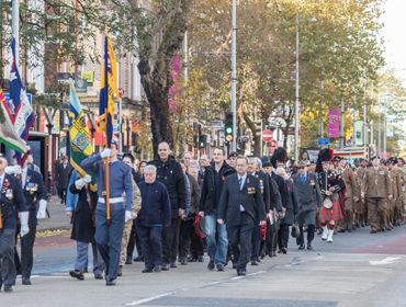 Remembrance Sunday parade, Ealing 2016