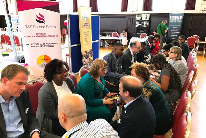 Speed networking at Ealing Business Expo