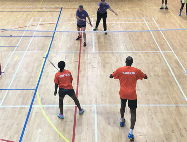 Team Ealing badminton at Better Club Games 2018