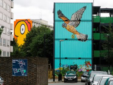 South Acton estate art