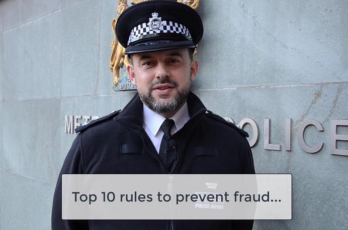 Fraud tips - Insp Mark Hughes
