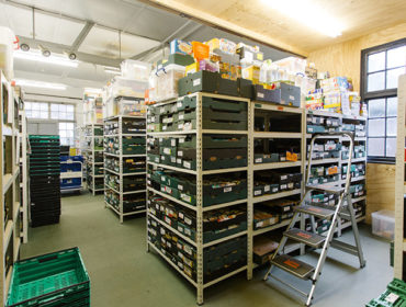 Ealing Foodbank's warehouse in Hanwell