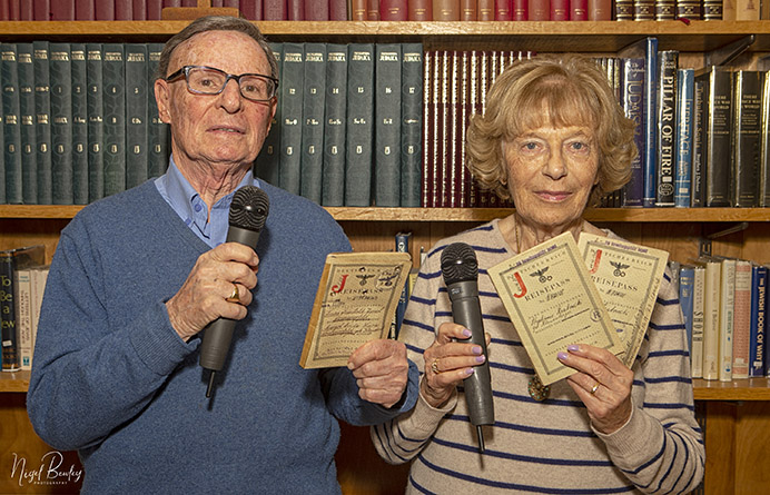Peter and Marianne Somerfield spoke of their experiences