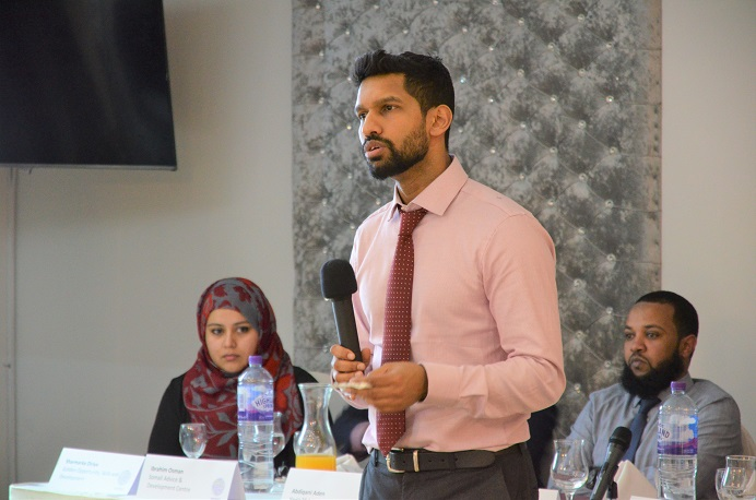 Abu Ahmed from the Home Office providing a National Prevent Overview
