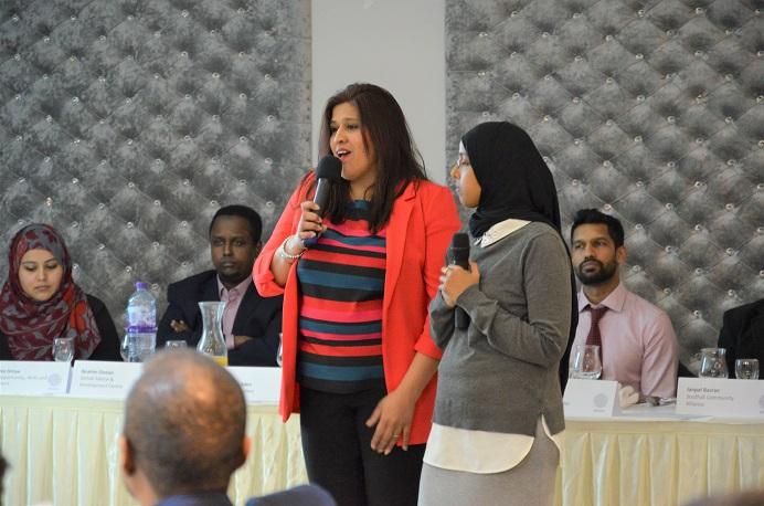 Jaspal Gill from ECVS & Rahma Elmi