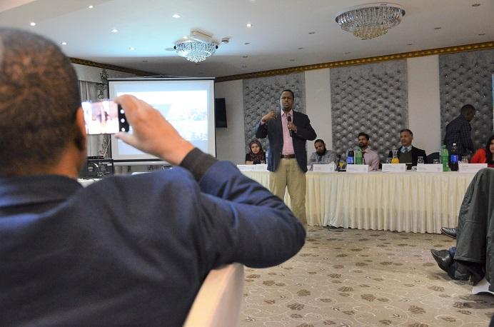 Ibrahim Osman from SADC